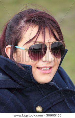 schöne junge Mädchen Englisch