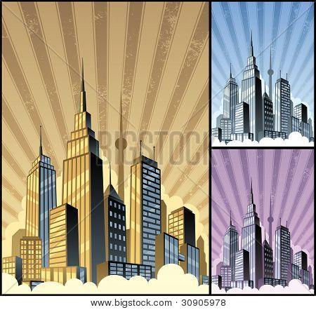 Paisaje urbano Vertical