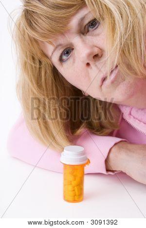 Mature Woman And Pills