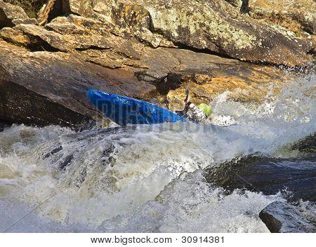 Kayaking River Rapids