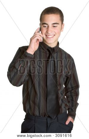 Young Businessman On Phone