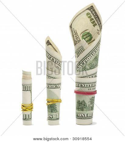 Money Growth On White