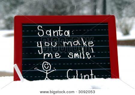 Big Smile For Santa
