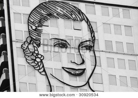 Portrait of Evita Peron