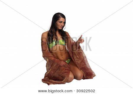 Beautiful Athletic Bikini-clad Hostess (3)