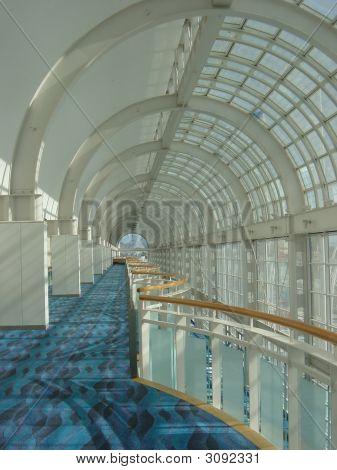 Aquatic Hallway