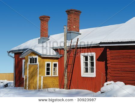 Winter Colors Of Finland