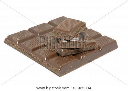 Schokolade-Blöcke