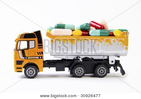 Truck With Drugs