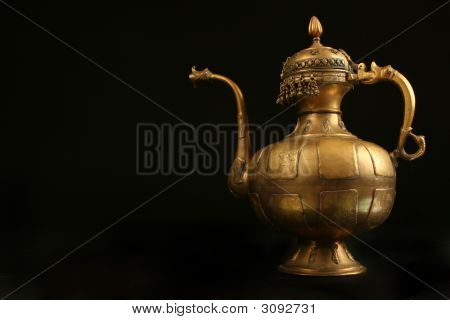 Decorative Middle Eastern Urn