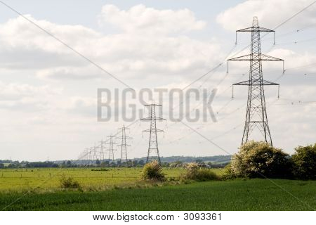 Line Of Pylons
