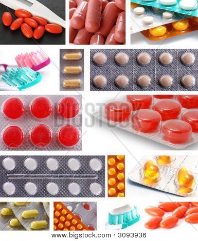 Medicines Collage