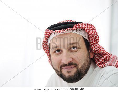 Porträt des arabischen Mann