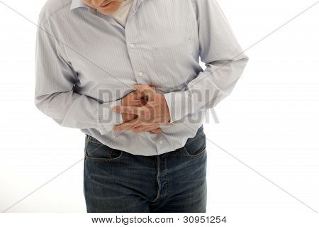Man With Abdominal Pains