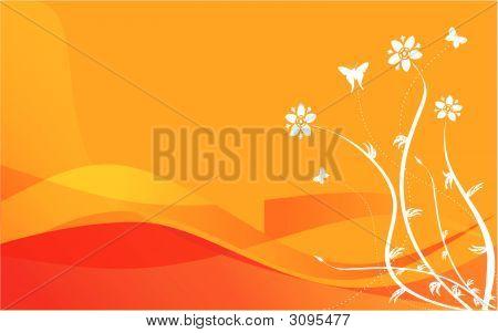 Orangewaveflowers