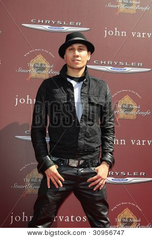 WEST HOLLYWOOD, CA - MAR 11: Taboo (Black Eyed Peas) at the 9th Annual John Varvatos Stuart House Benefit on March 11, 2012 in West Hollywood, California
