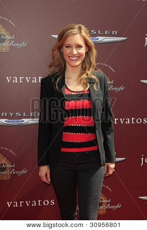 WEST HOLLYWOOD, CA - MAR 11: KaDee Strickland at the 9th Annual John Varvatos Stuart House Benefit on March 11, 2012 in West Hollywood, California