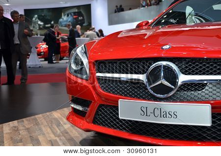 Mercedes SL Class At the 82th Geneva Motor Show