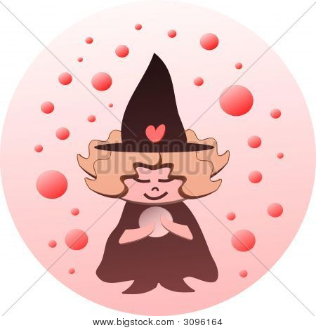 Lil Witch And The Crystal Ball