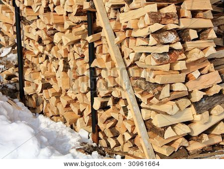 Stock Of Firewood
