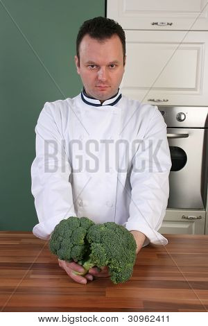 Chef And Broccoli