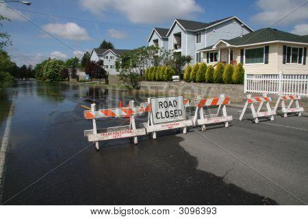 Road-Barrikade
