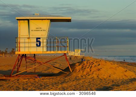 Torre de salvavidas de California