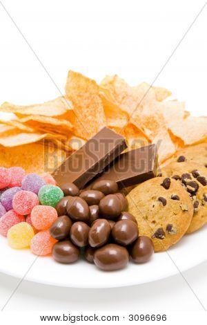 Junkfood en placa