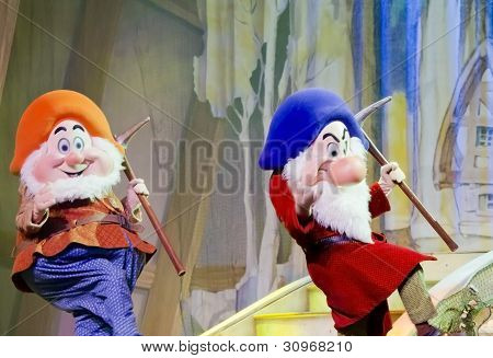 Two Dwarfs From Snow White