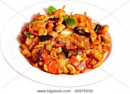 Thai Stir-fried Cashew Nut Chicken