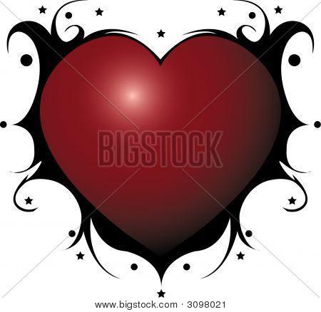 Emo Heart.Eps
