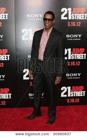 LOS ANGELES - MAR 13:  Orlando Jones arrives at the