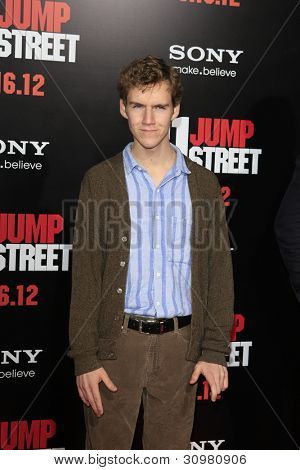 """LOS ANGELES - MAR 13:  Dax Flame arrives at the """"21 Jump Street""""  Premiere at the Graumans Chinese on March 13, 2012 in Los Angeles, CA"""