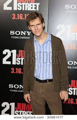 LOS ANGELES, CA - MAR 13: Dax Flame at the premiere of Columbia Pictures '21 Jump Street' held at Grauman's Chinese Theater on March 13, 2012 in Los Angeles, California