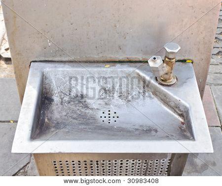 Old Public Faucet