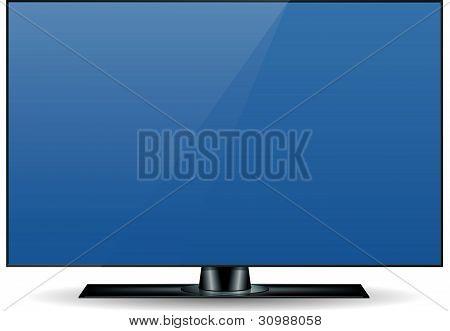 Edgeless Hd Television Set