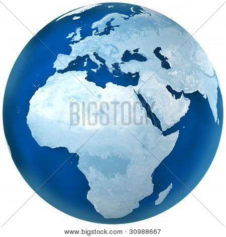 Blue Earth Africa And Europe