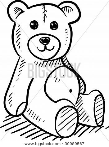 Teddy Bear sketch