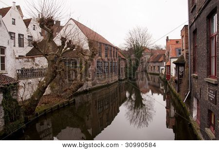Channel In Brugge
