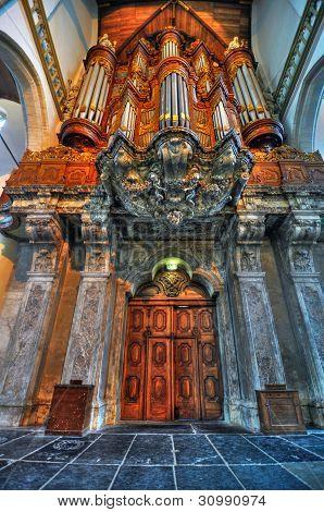 Oudekerk organ, Amsterdam