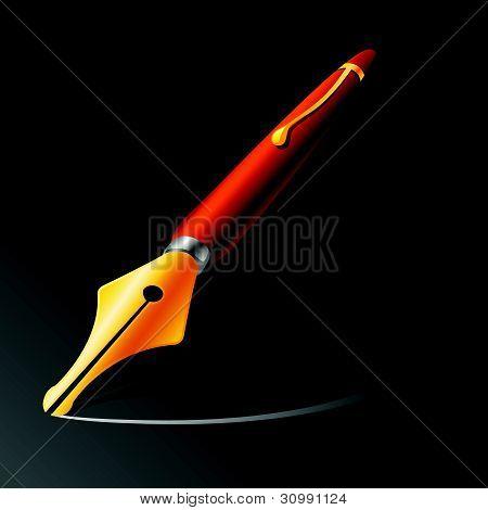 Vector Pen Illustration