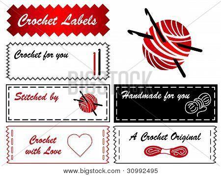 Crochet Labels