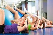 stock photo of young women  - Fitness  - JPG