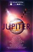 Vektor Planet Jupiter Design