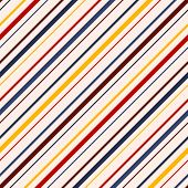 Diagonal Stripes Seamless Pattern. Vector Colorful Lines Texture. Abstract Geometric Striped Backgro poster