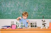 Chemistry Laboratory. Practical Knowledge Concept. Study Grants And Scholarship. Wunderkind And Earl poster