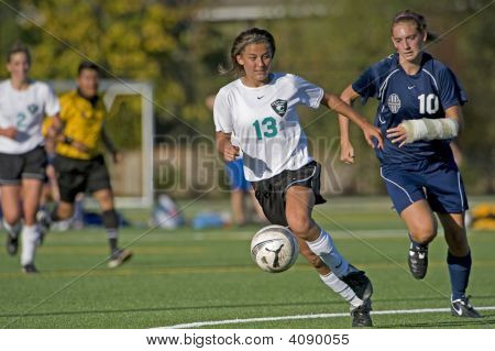 Girls Varsity Soccer Arm Cast