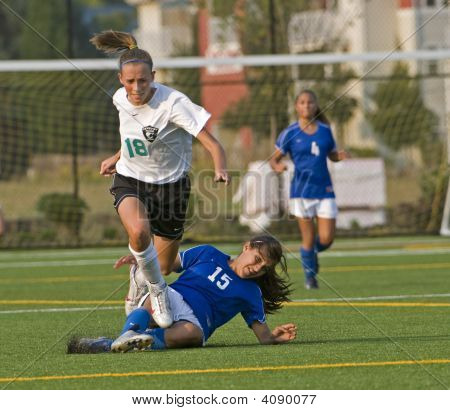 Girls Soccer Trip