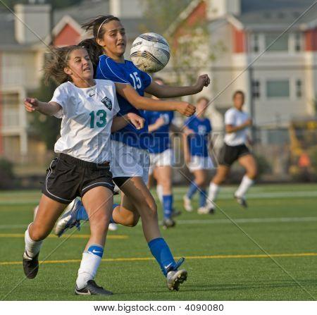 Girls Hs Varsity Soccer Players