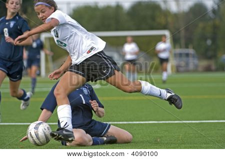 Mädchen-hs-Varsity-Fußball